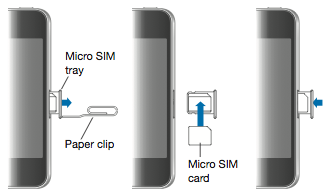 remove sim card iphone 4 how to place a sim card in an iphone quora 17956
