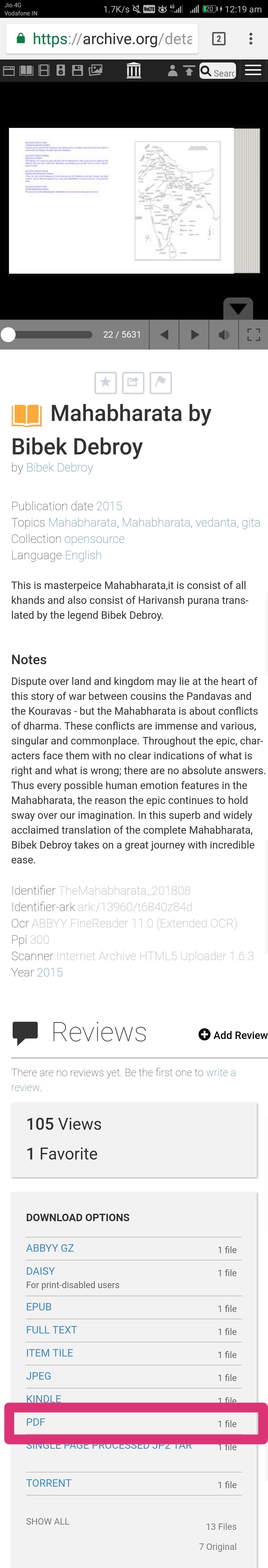 mahabharata story in english pdf