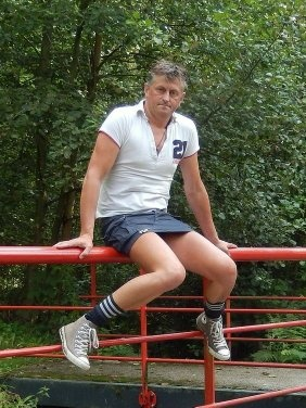 Mature women in tight shorts