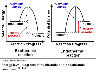 What is difference between endothermic and exothermic ...