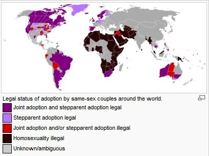 Homosexual adoption legal