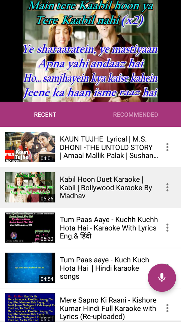 Which is the best karaoke app for Hindi songs? - Quora