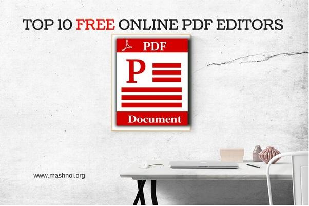 pdf editor online free best