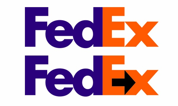 I Dont See The Symbol In The Fedex Sign What Is The Sign And Are
