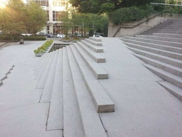 ... Of A Ramp Built Into A Long Staircase. Itu0027s An Exterior Stair Designed  By Vancouver Architect Aurthur Ericson And Recently Featured In The Movie  The ...