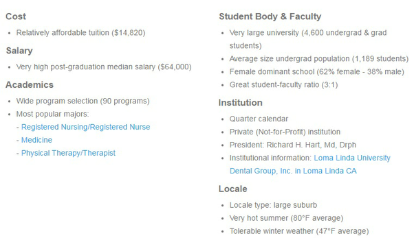 What are the requirements for attending Loma Linda University? - Quora