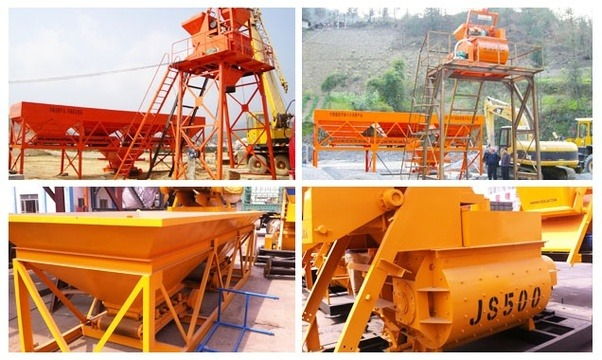 Hzs240 High Performance Concrete Batching Plants Fixed
