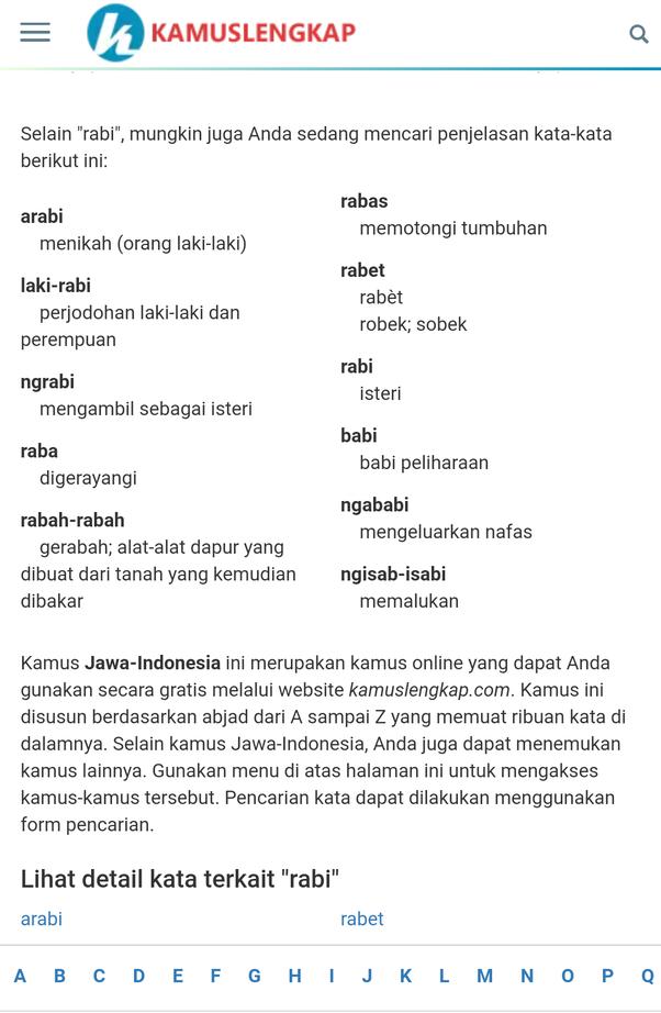 Apakah Arti Kata Rabi Quora