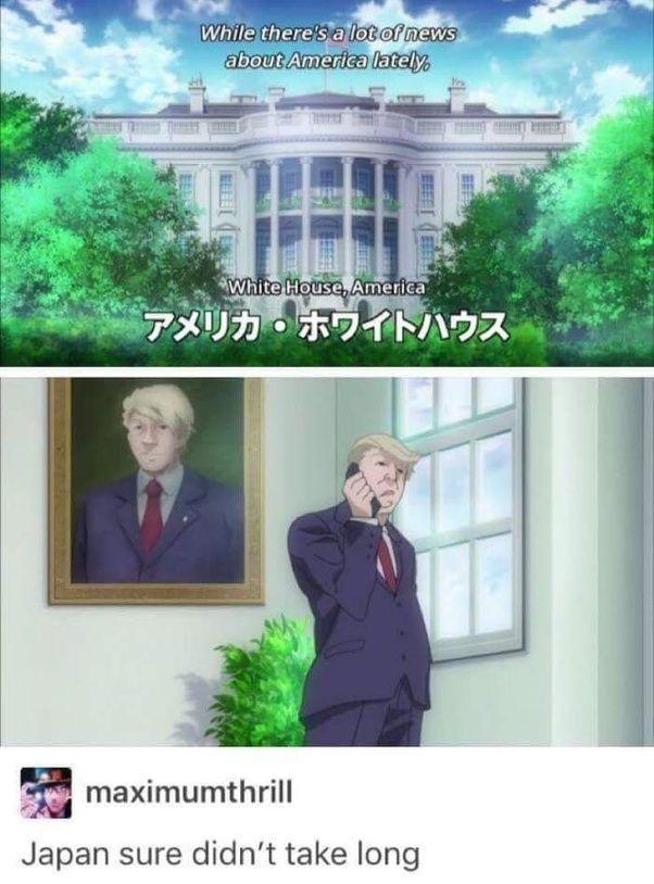 Does the white house ever appear in anime quora voltagebd Choice Image