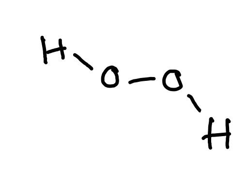 What Is The Lewis Dot Structure For H2o2 Quora