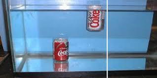sugar density in diet coke