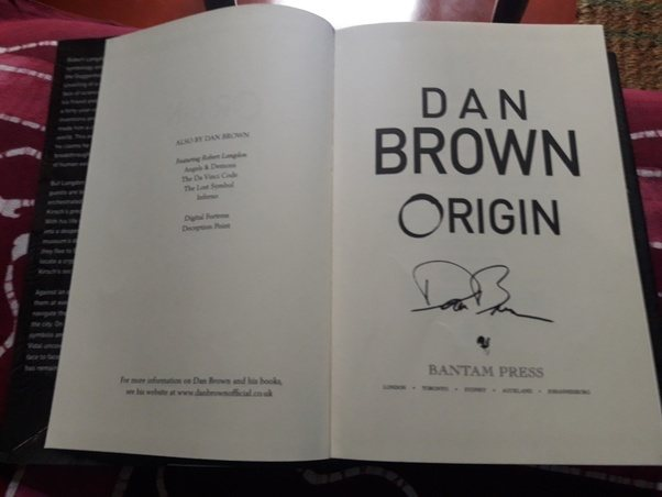 What Is Your Review Of Dan Browns Latest Langdon Novel Quora