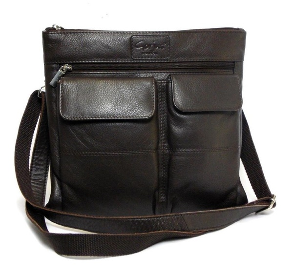 dd65f88ddf2c This classy handbag is a must have this season. This pure leather crossbody  bag with two front flap pockets