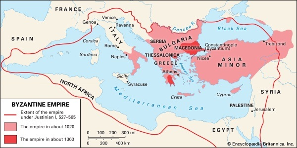 Is the byzantine empire located in the great economic location quora byzantine map gumiabroncs Image collections