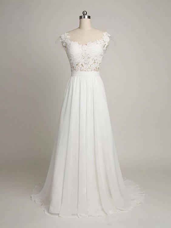 What are the best wedding dresses for short chubby brides for Wedding dress ideas for short brides