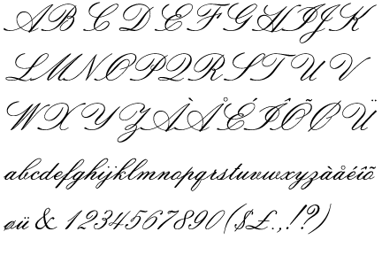 Sackers Italian Script Has The Most Similar F That I Can Find Fonts Are Even Curlier
