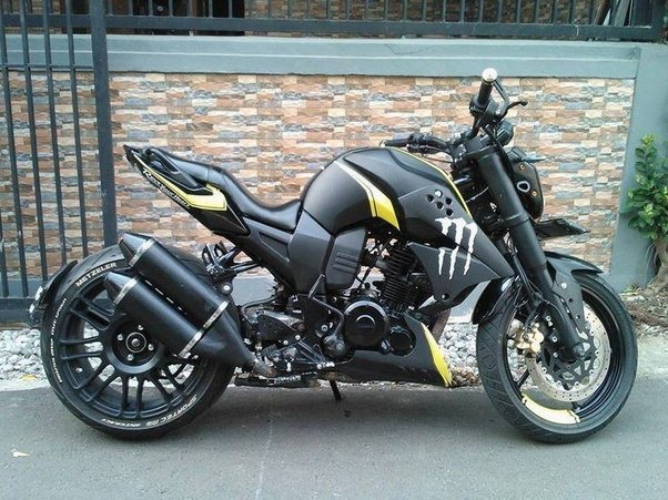 Which is the best modified yamaha fz s quora for Yamaha fz back tyre price