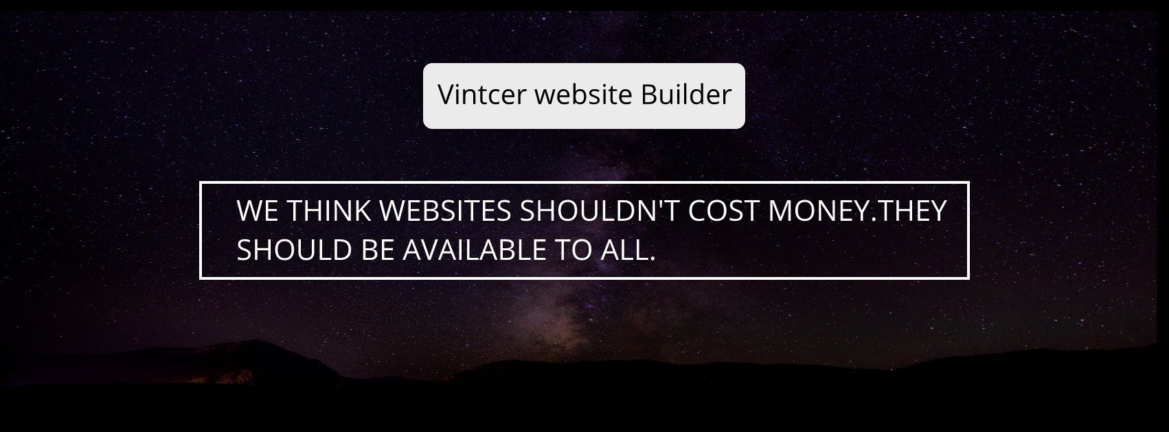 Is there a free website builder that allows you to use your