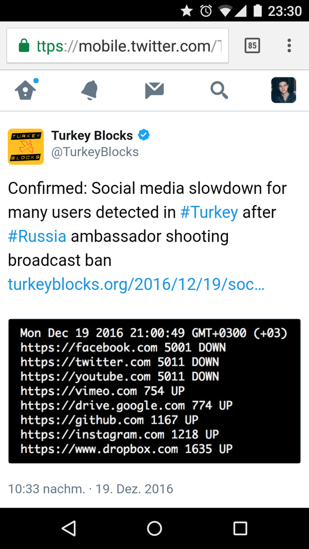 Google Turkey Office To Google Is Not Blocked Amd Even Has An Office In Istanbul But More And More Social Apps Like Facebook Youtube Etc Are Throttled Turkey To The Point Of Is Really Banned Turkey Armenia Azerbaijan Quora