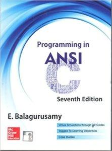 Pdf balaguruswamy programming books c by