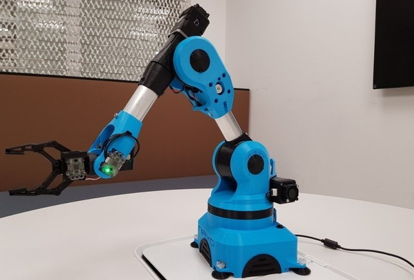 What is a open source, programmable and affordable robotic arm that