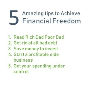 Steps to achieve financial freedom and make you successful
