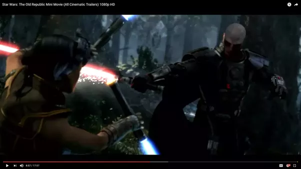 Why couldnt the jedi block lightsabers with the force quora in the old republic cinematic we see satele fighting with darth malgus her lightsabre gets cut in half fandeluxe Gallery