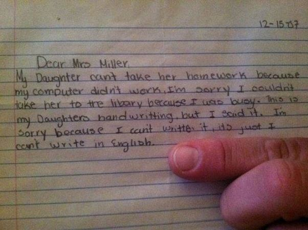 How To Write A Letter For A Child Who Was Absent From School  Quora