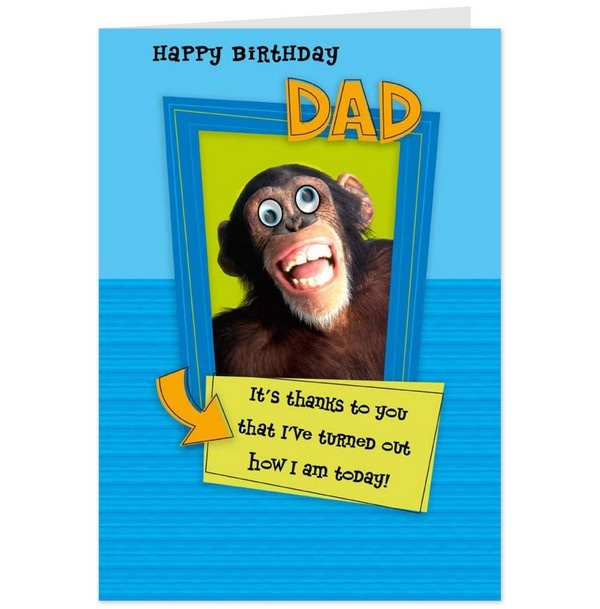 What are some funny birthday wishes for a dad? - Quora