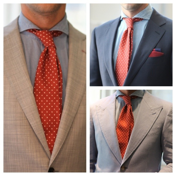 how to get the dimple in your tie