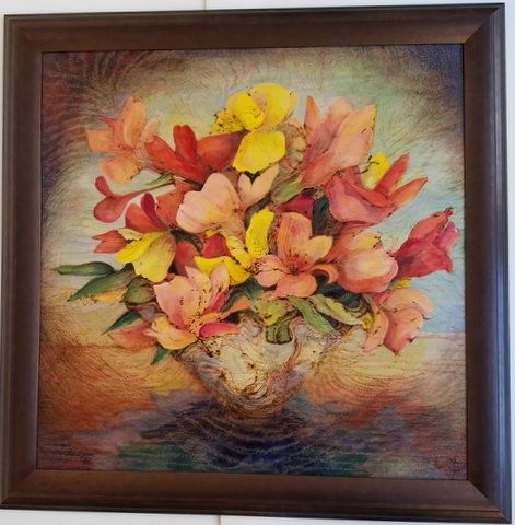 would you share your art work on wood any drawings paintings