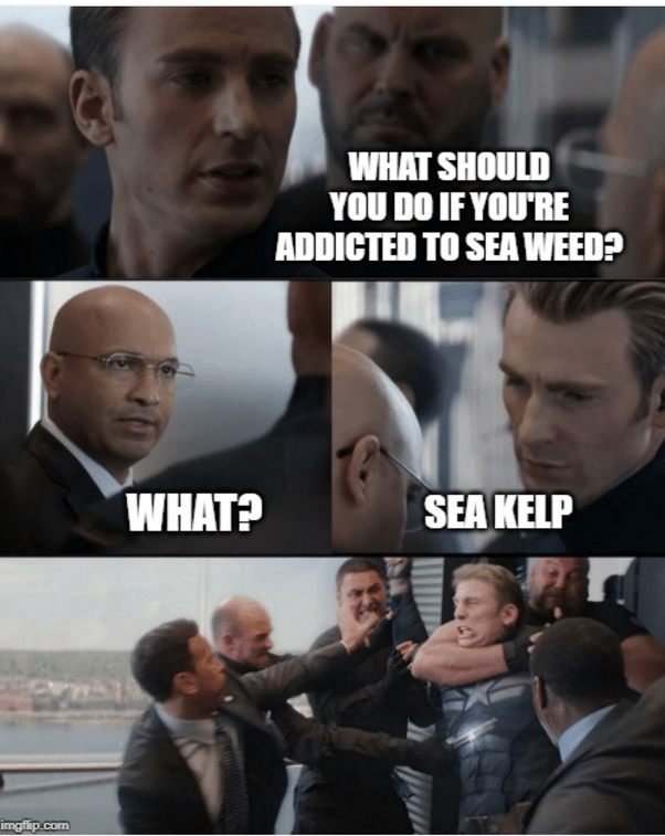 Meme Captain America In Lift