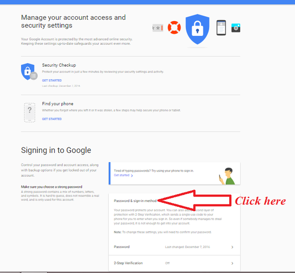 how to get my gmail password