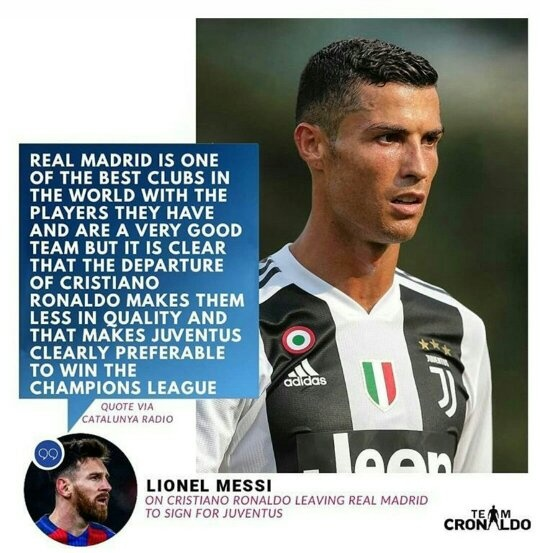 timeless design 6654f 55957 What do you think of Cristiano Ronaldo going to Juventus ...