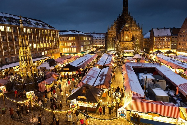 christmas markets personally i recommend nrnberg biggest in the world rothenburg ob der tauber and munich these markets are the highlight of the - Best Places To Visit For Christmas