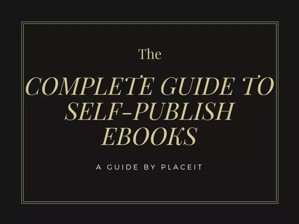 Whats the best way to self publish an e book on social media sources a complete guide to self publish ebook 20 book marketing tips and tactics for self publishing authors fandeluxe Choice Image