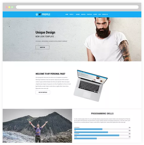 Do You Have An Example Of A Landing Page For Web Design Services