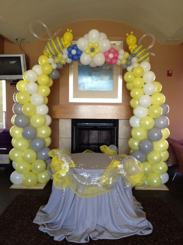 What Are Balloon Decoration Ideas For Baby Shower Quora