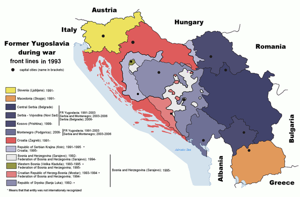 What is the meaning of constitutional entities in Bosnia
