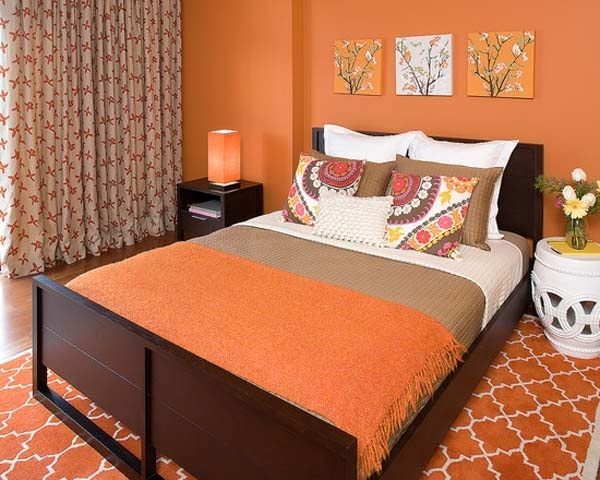 What Color Of Curtains Will Go With Orange Walls Quora