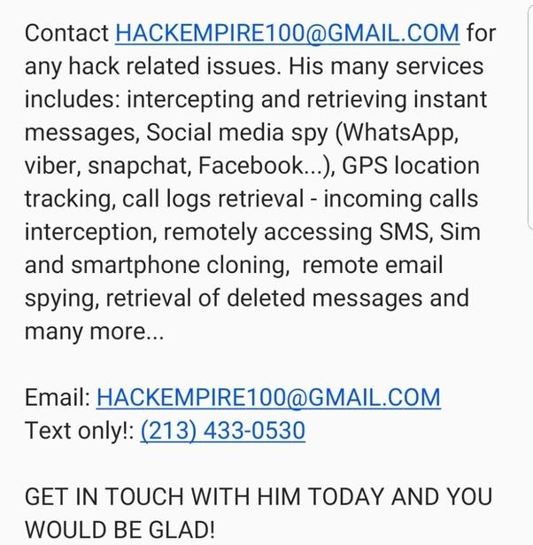 I blocked someone in WhatsApp   Will they hack my phone? - Quora