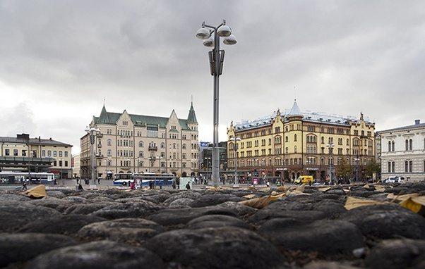 Auringonlasku Tampere