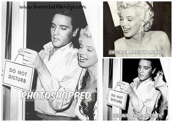 Did Elvis Presley ever meet Marilyn Monroe? - Quora