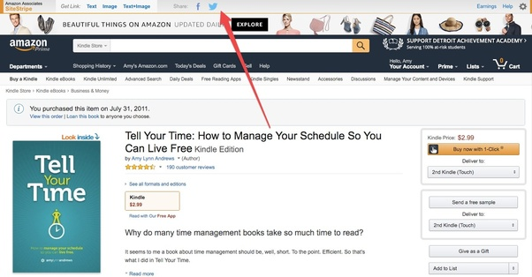 How to paste the Amazon affiliate links on FB page - Quora