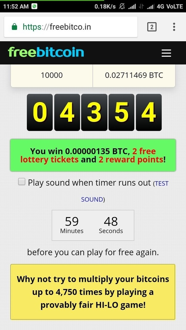 bitcoin faucet instant payout 2021
