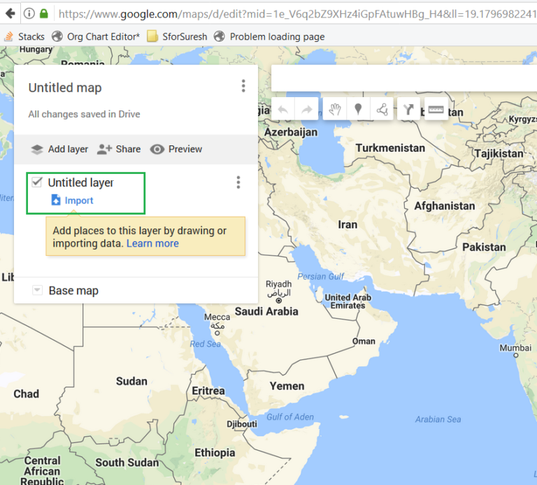 How to transfer saved locations of HERE maps to Google Maps