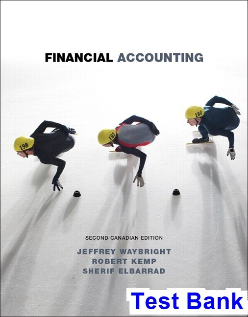 Where Can I Read Financial Accounting Canadian 2nd Edition Waybright