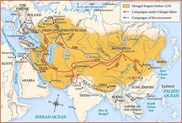 What happened in the 13 14th century that made the muslim mongol invasions and conquests wikipedia gumiabroncs Gallery