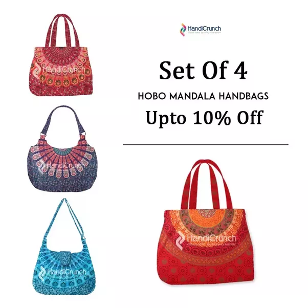 Handicrunch S All Types Bags Online Like Mandala Handbags Shoulder Clutch Tote Bagany More At Very Low Price In Various Colours