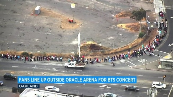 How to get into the pit at a BTS concert - Quora